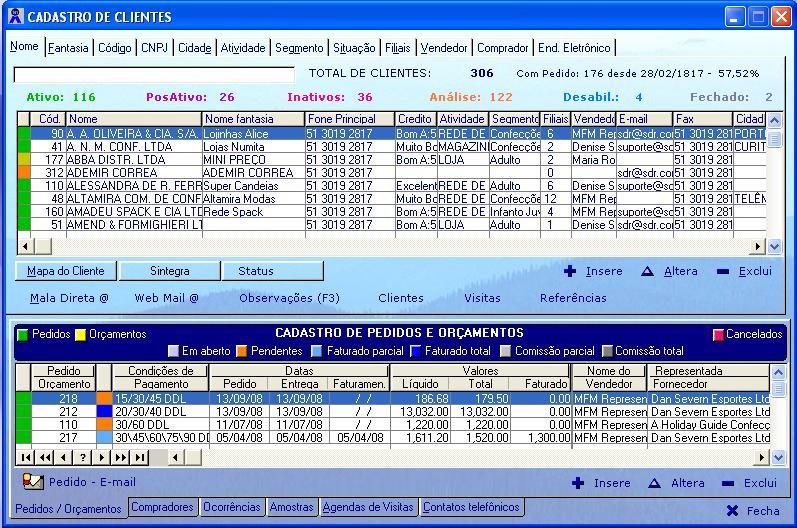 Clique na imagem para ir a Funções do Sistema SDR