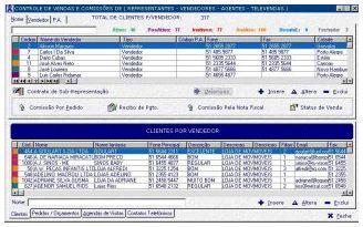 Sistema de Representação para Representantes Comerciais