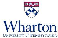Wharton School da Univ. da Pensilvânia